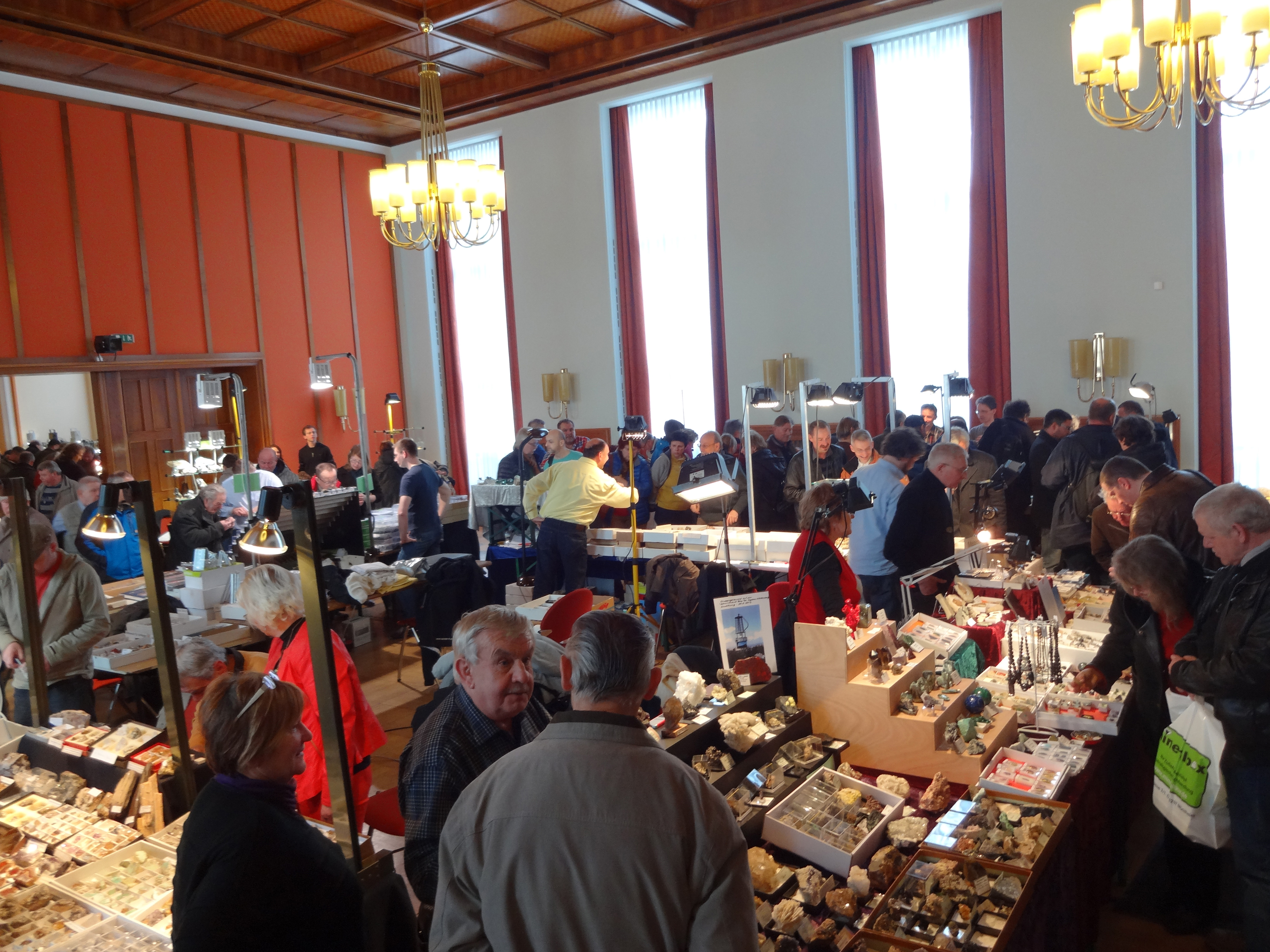 43rd Gem and Mineral Show in Aue