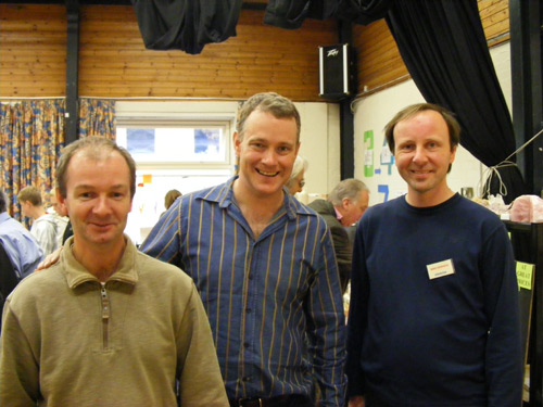 Steve Warren, Ian Bruce, Dr David Green