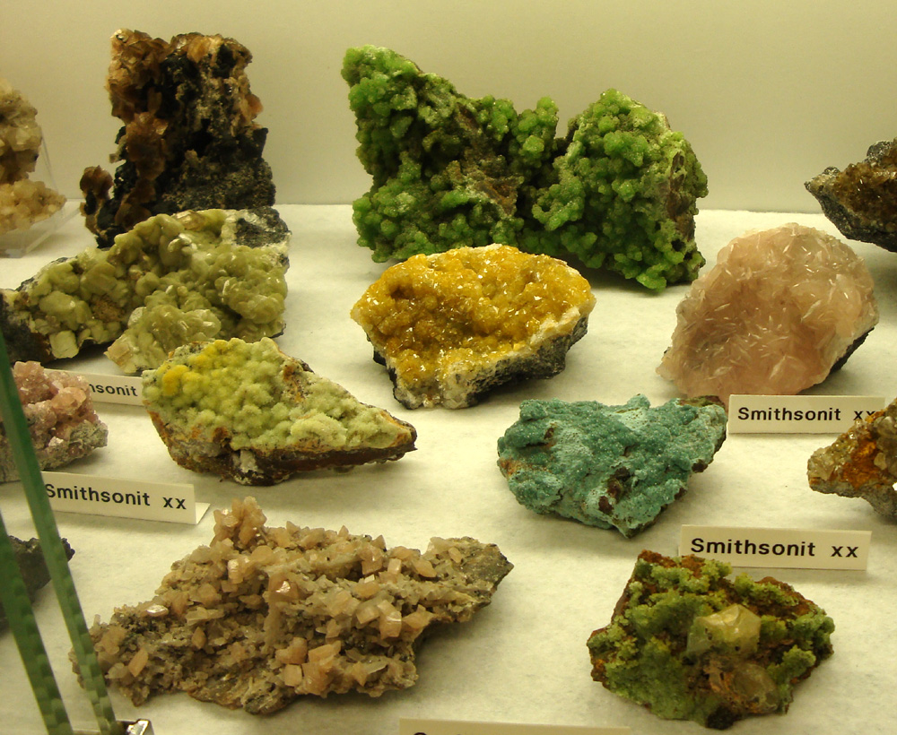 Tsumeb Smithsonite - some