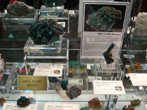 Mica hosted Emeralds from Zambia