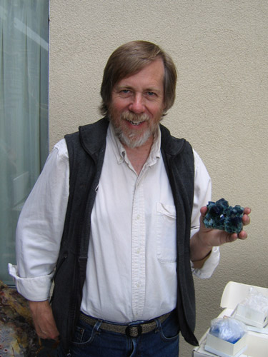 Jesse Fisher with Rogerley Fluorite