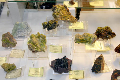 Chinese Pyromorphites and English Specularite