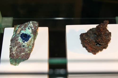 Connellite and Rhabdophane-Nd)