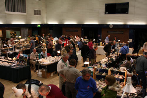 Haywards Heath Mineral show