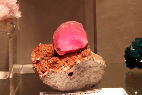 Cobaltoan Calcite from Mupine Mine, DR Congo