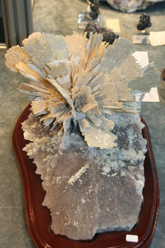 Quartz pseudo after Anhydrite from Rio Grande del Norte, Brazil