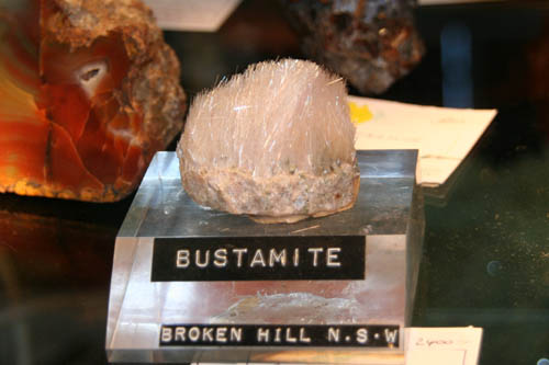 Bustamite from Broken Hill