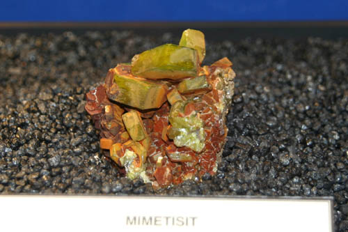 Mimetite from Elura Mine, Cobar, NSW