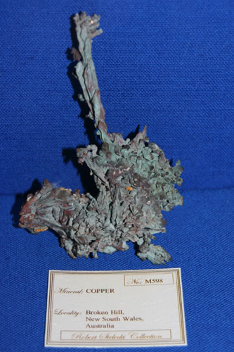 Native Copper Broken Hill
