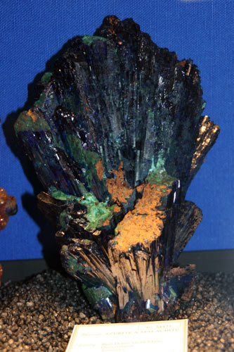 Azurite Red Dome Gold Mine, Queensland