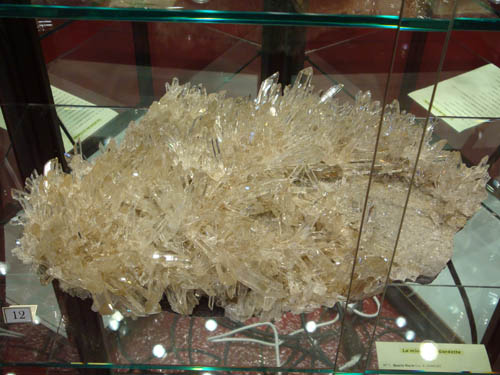 Quartz from La Gardette
