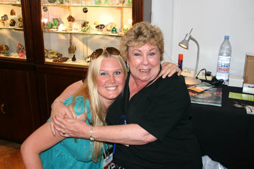 Kristina Bode with Dona