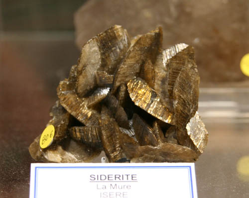 Siderite from La Mure, Isere, France