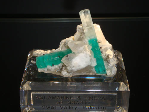 Emerald and Aquamarine from Swat Valley, Pakistan