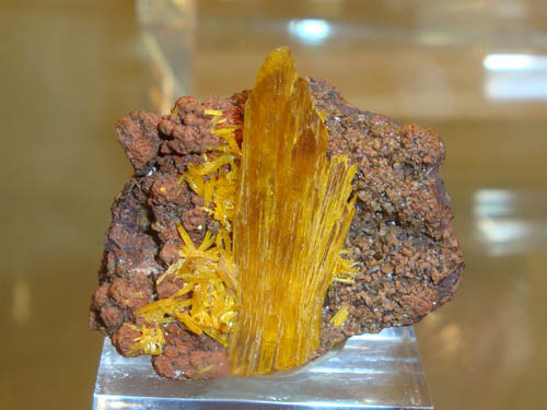 Legrandite from Ojuela Mine, Mexico