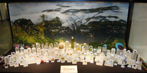 GIA gem display
