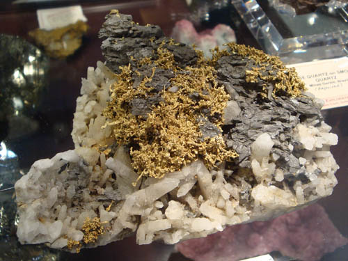 Gold in Arsenopyrite from Belshazzer Mine, Idaho