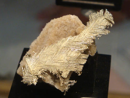 electrum feather from Mad Mutha Mine