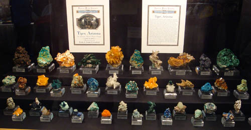 Minerals from Tiger, Arizona