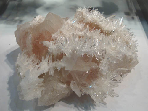 Fluorite and Quartz from Peru