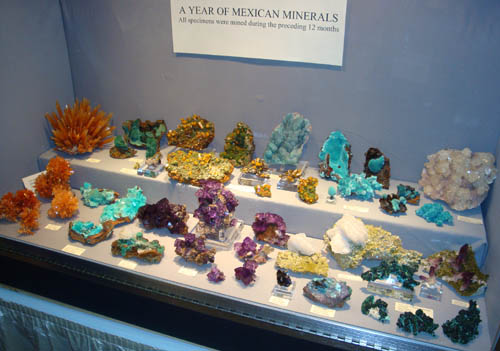 A year of mexican minerals