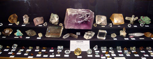 Calcite display