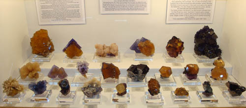 Fluorites from Southern Illinois