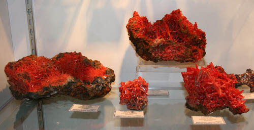 Crocoite from Tasmania