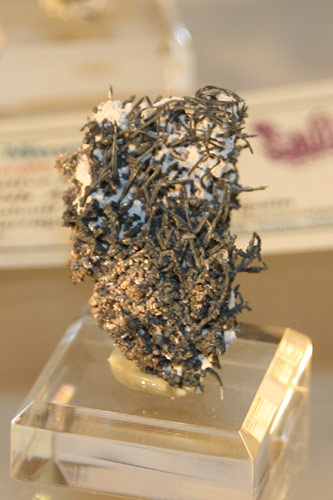 Silver from Balcoll Mine, Catalonia, Spain