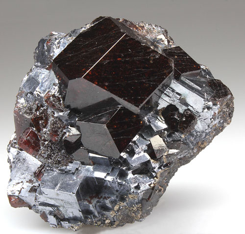 Spessartine Garnet Broken Hill M. Lavers