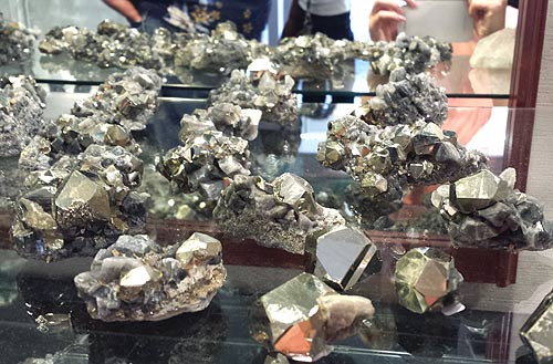 Pyrite, Colombia