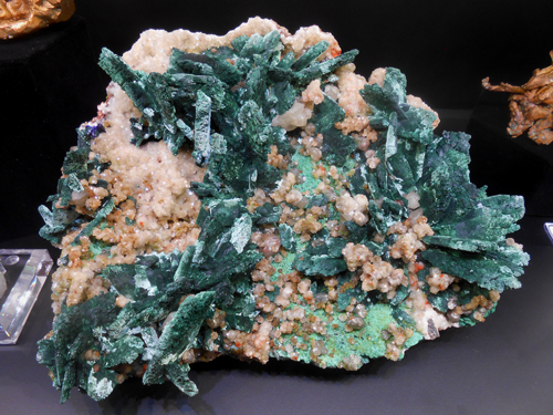 Azurite after Malachite Tsumeb