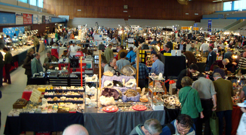 View of mineral show