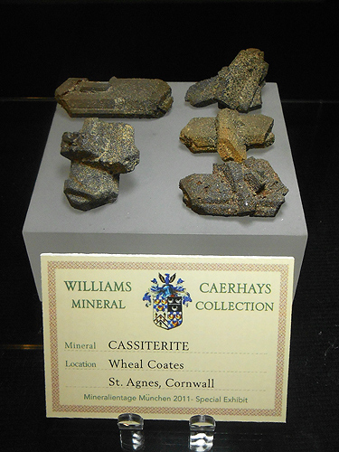 Cassiterite after Orthoclase coates