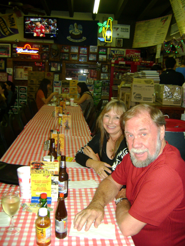 Dining down the Racin' Cajun
