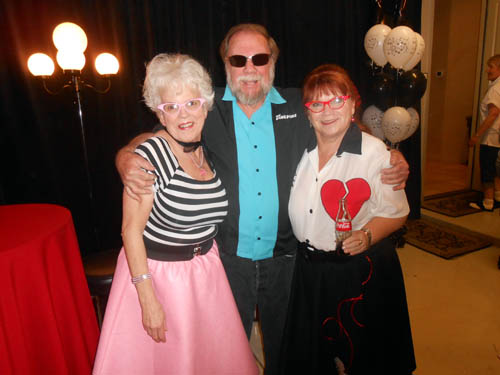 Audrey Lloyd, Wayne Leicht and Tana Daughtery