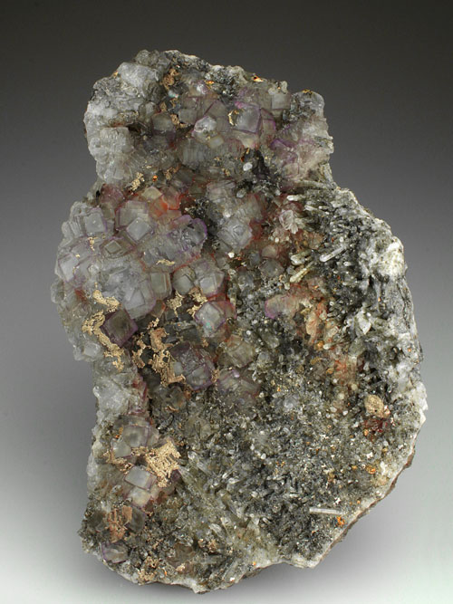 Fluorite with Quartz Cornwall
