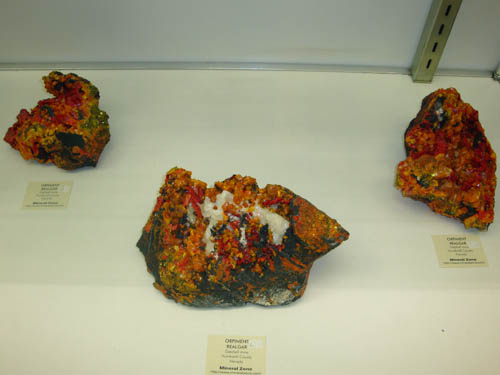 Orpiment and Realgar from Getchell Mine, Nevada