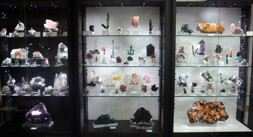 Fine Minerals International display