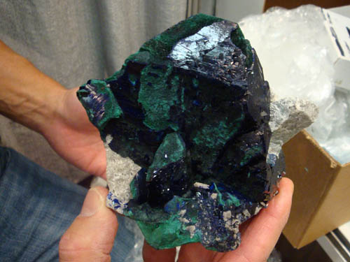 Azurite from Milpillas Mine, Mexico
