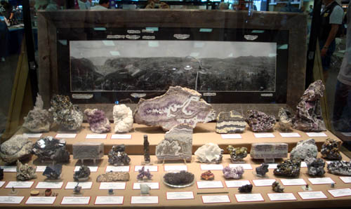 Creede Mining District display