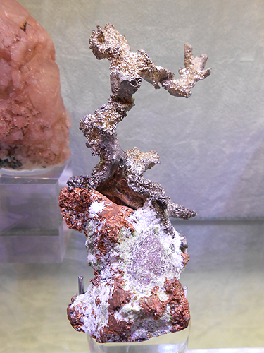 Native silver, Native Copper, Michigan