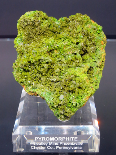 Pyromorphite Wheatley Mine