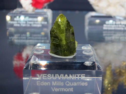Vesuvianite Eden Mills Quarry, Vermont