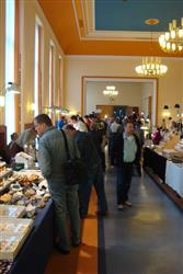 35th Mineral show in Aue, Saxony, Germany