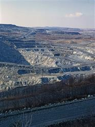 The Jeffrey Mine,  Asbestos,  Canada