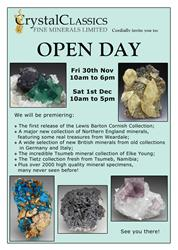 OPEN DAY - 30 Nov and 1 Dec 2012