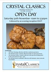 The Crystal Classics Open Day 30th November 2013