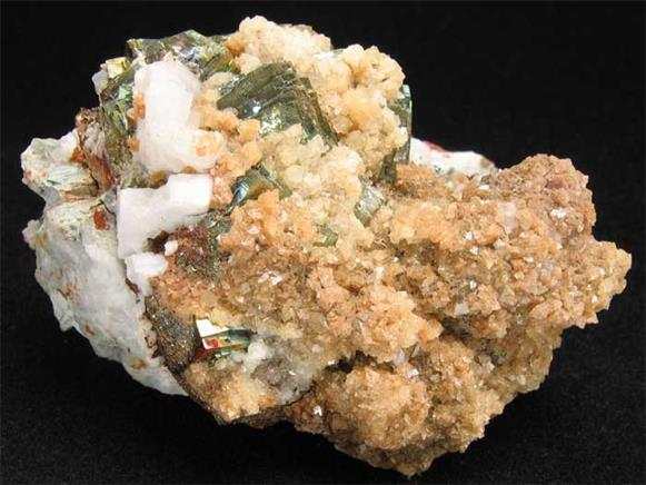 Pyrite and Dolomite