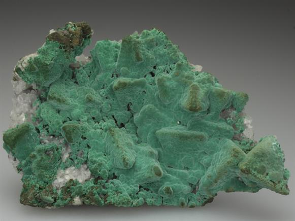 Malachite on Tennantite